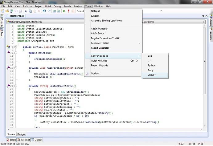 C#.NET Code