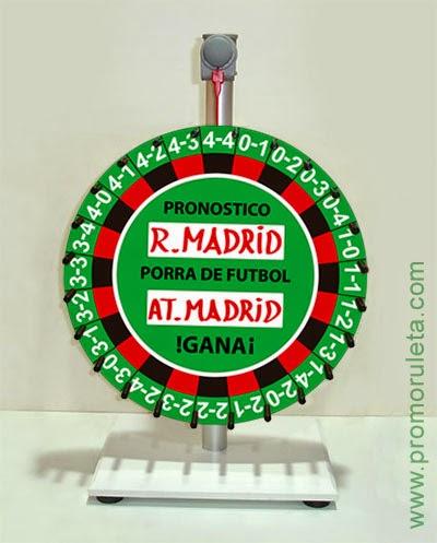 RULETA PORRA - OCIO - DIVERSION - ACTOS SOCIALES - CIRCUITOS COMPETICION - NEGOCIO - APUESTAS - SORTEOS - RIFA - TOMBOLA - BINGO - VENTA RULETAS ESPAÑA 91 5315778 - PROMORULETA - ACCIONES CON RULETA - GRANDES PREMIOS.