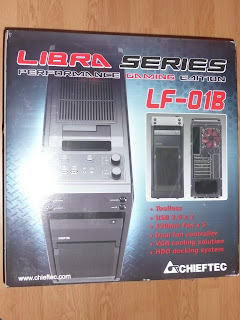 Chieftec LF-01B-OP packaging
