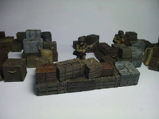 [Pintura] Warehouse Set I de Warlordgames