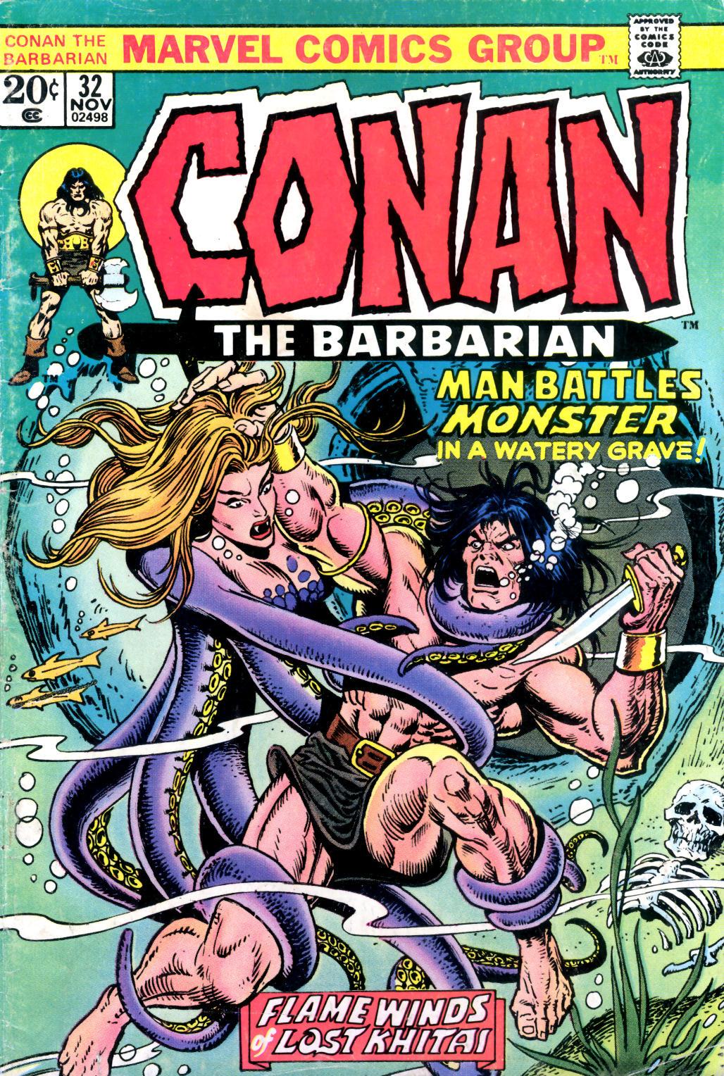 Conan the Barbarian (1970) Issue #32 #44 - English 1
