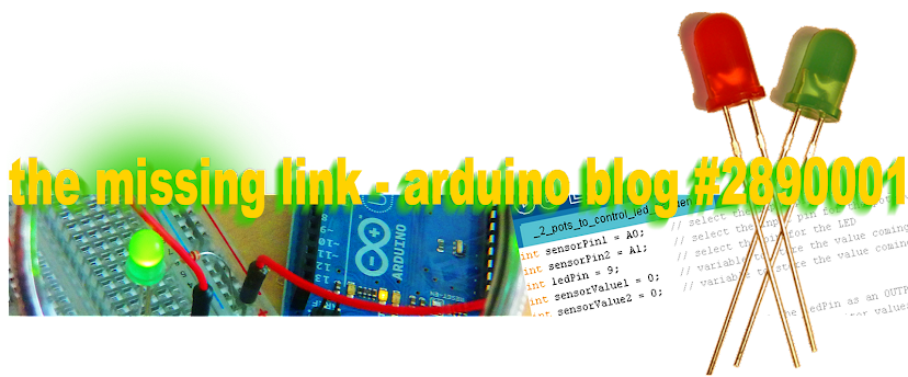 the missing interface - how arduino teaches me