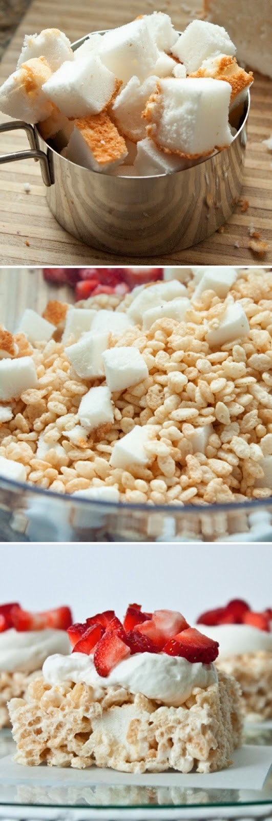 How To Make Strawberry Shortcake Rice Krispie Treats