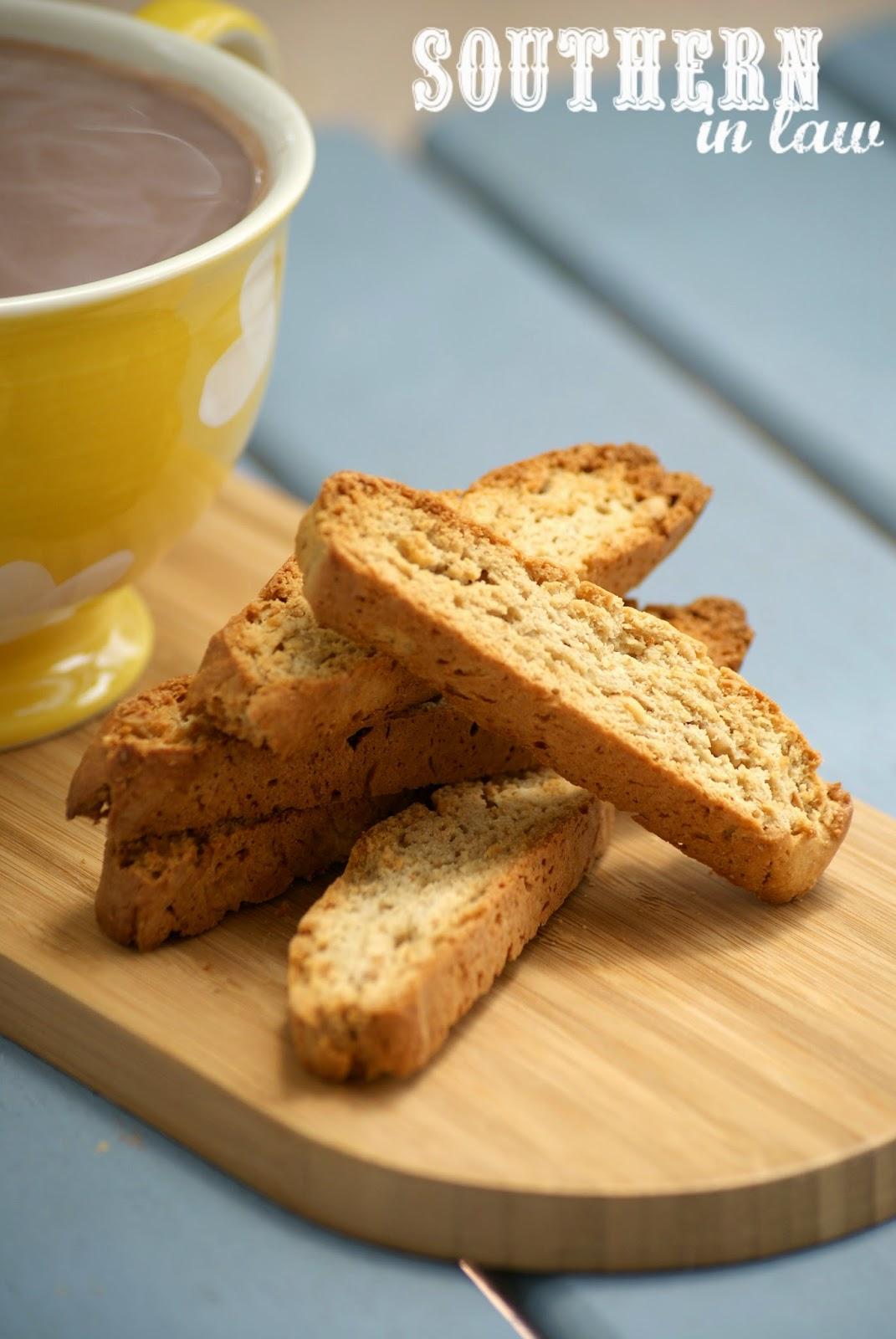 Healthy Peanut Butter Biscotti Recipe - low fat, low sugar, gluten free, clean eating friendly, healthy biscotti recipe