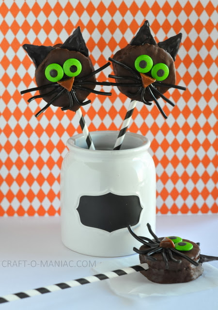 Halloween Cat Treats