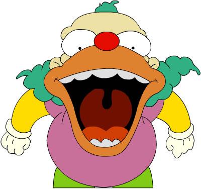 Open brief krusty the clown - Simpson le clown ...