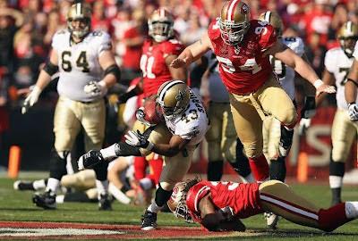 San Francisco 49ers vs. New Orleans Saints ESPY 2012