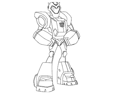 #14 Transformers Coloring Page