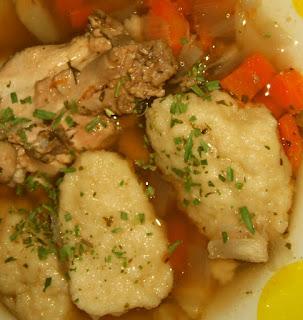 poze cu supa de galuste de gris facute acasa