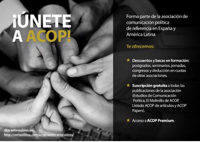 ¡Súmate a ACOP!