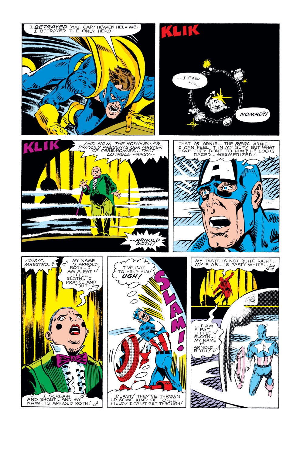 Captain America (1968) Issue #296 #224 - English 15