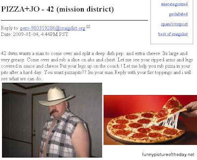 Pizza Jo Funny Craigslist Post