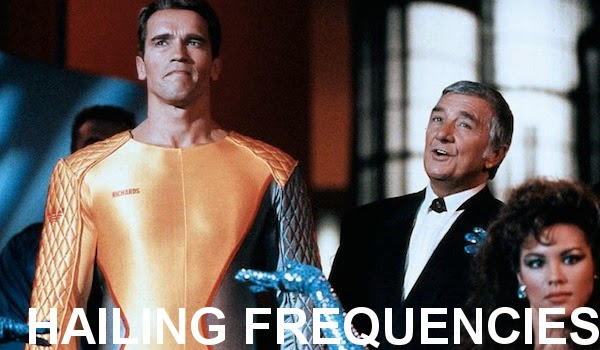 The Running Man (1987) - Ben Richards (Arnold Schwarzenegger), Damon Killian (Richard Dawson)