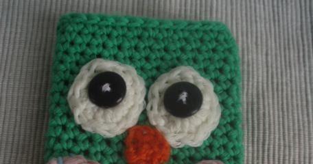 La ventana azul: 71.- Funda de búho a crochet. STASH ... - photo#30