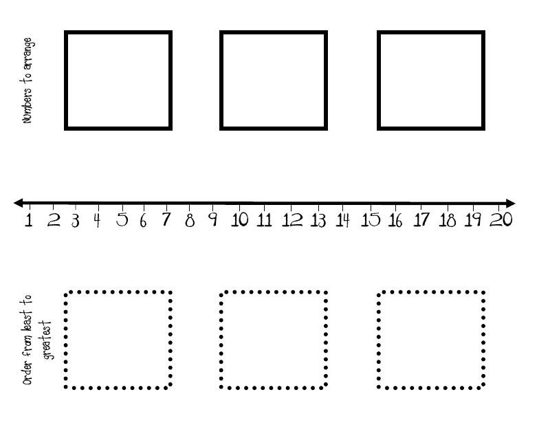 Printable number line to 20 : Printable Number and Printable Number ...