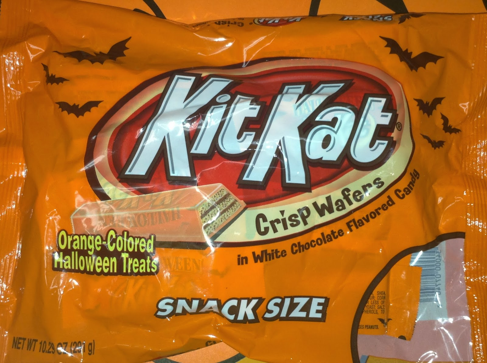 one candy that has been released throughout the years for as long as i can remember are halloween kit kat bars i cant remember when they made their