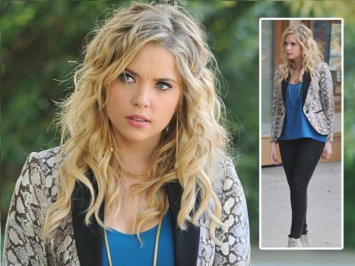 Pretty Little Liars Hanna Season 2 Fashion Gold: A...