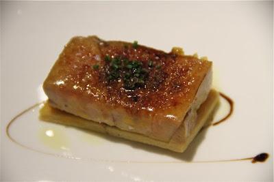 Coca de foie caramelitzada con manzana al PX. Rte. Caldeni. Blog Esteban Capdevila