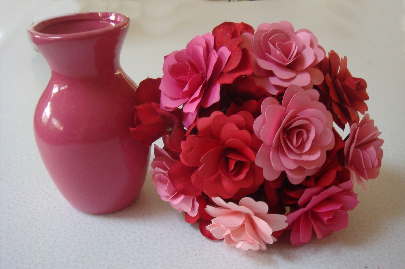 Valentines Day Paper Flowers Paper Roses