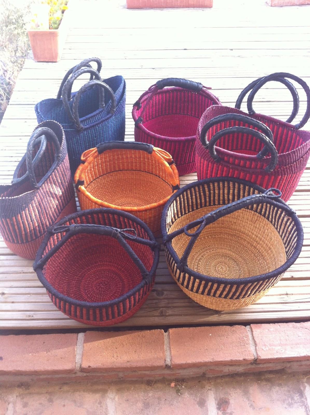 Handmade Ghana Baskets : Digame for sale handmade fair trade baskets from ghana