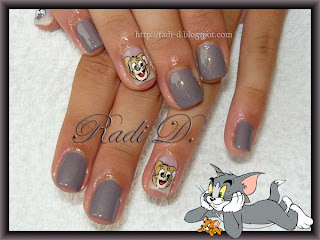 Tom and Jerry decoration, Catrice- Steel My Soul