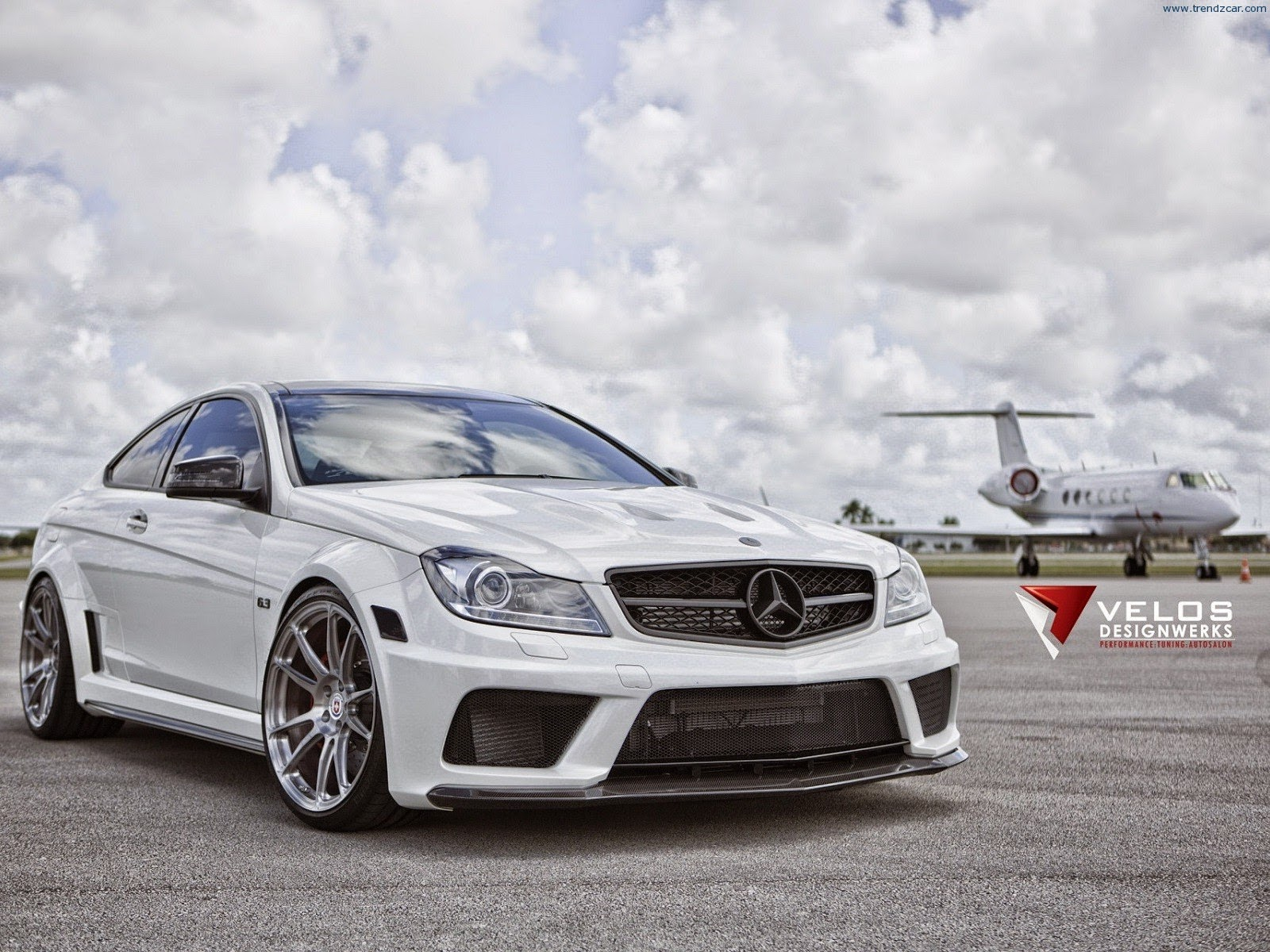 Mercedes benz c63 amg black series by velos designwerks for C63 mercedes benz