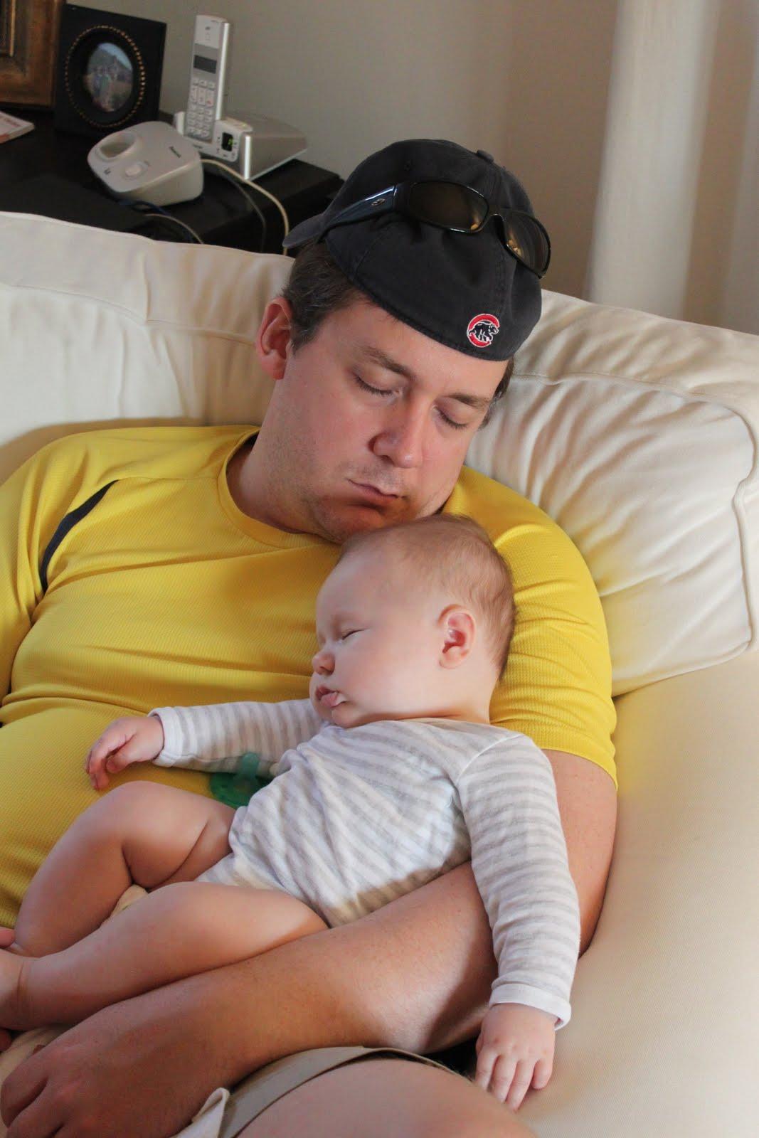 how to get a wide awake baby to sleep
