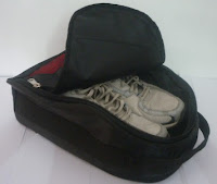 gambar shoes travel bag organizer