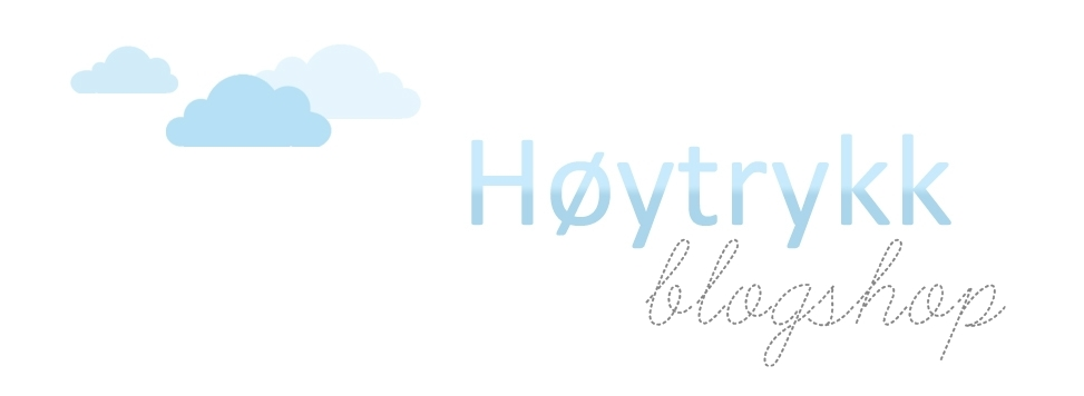 Høytrykk blogshop