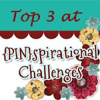 I made the top three at Pinspirational Challenge