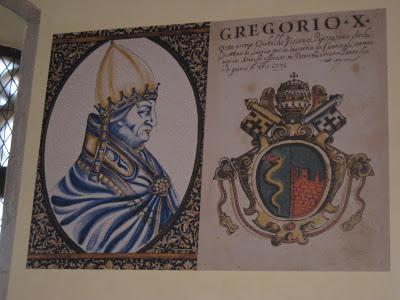 Pope Gregory X Viterbo Palazzo dei Papi