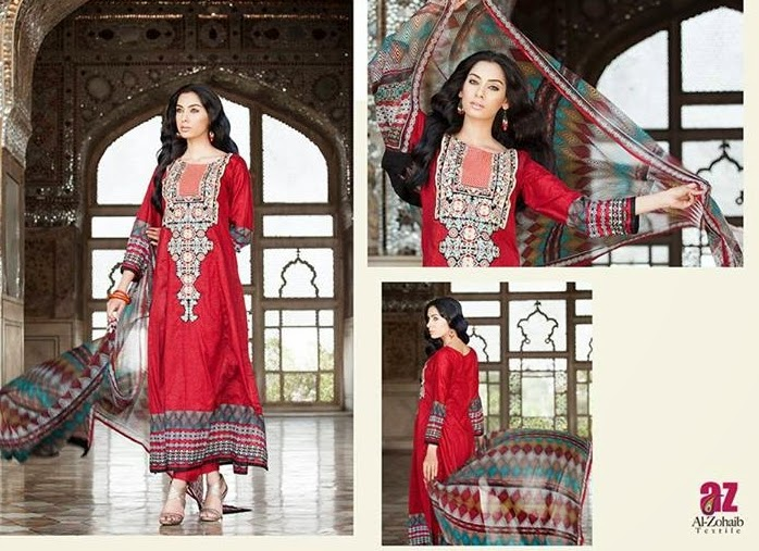 Mahnoor Eid Collection 2014-15