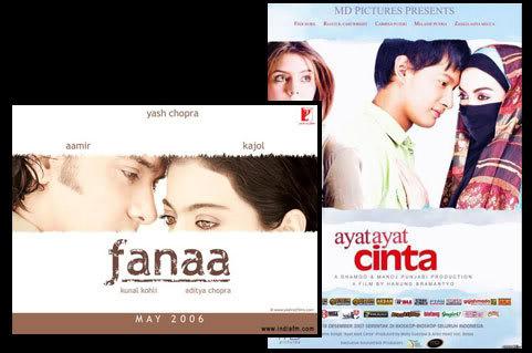 Fanaa vs Ayat-Ayat Cinta