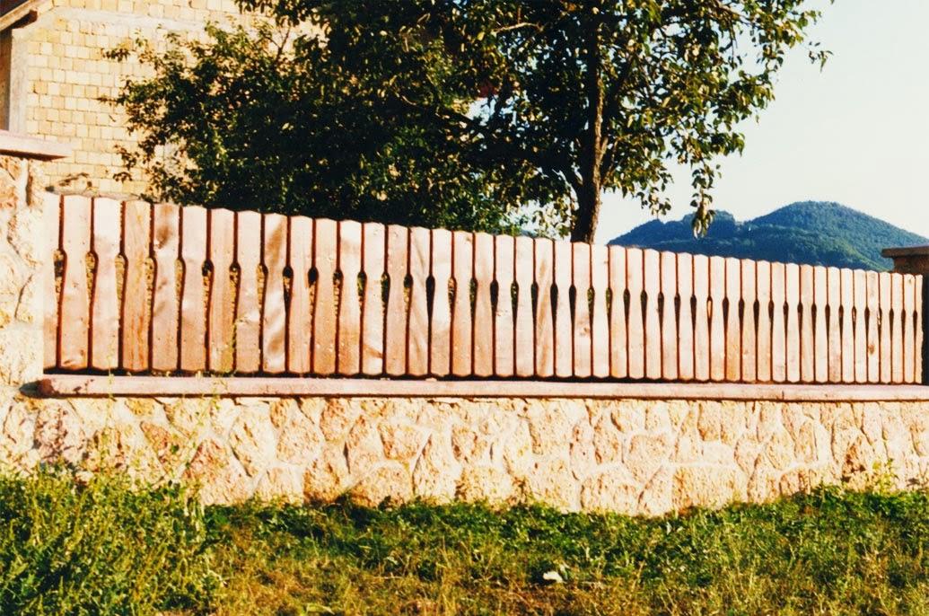 Drvene ograde za dvorista