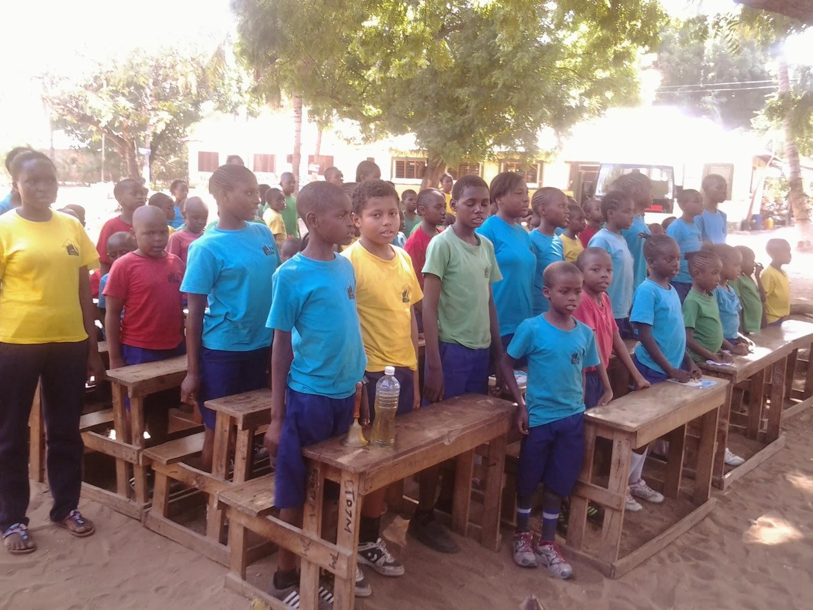 our speakers were evans daniella margaret and head boy joel musyoka