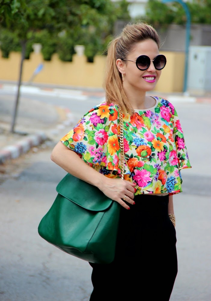 בלוג אופנה Vered'Style - אביב צבעוני ופרחוני