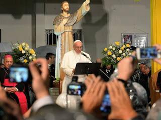 Papa Francisco no Hospital São Francisco