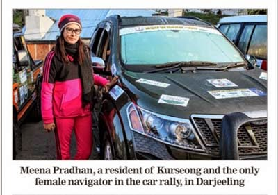 Meena pradhan at Darjeeling Rally de Orange