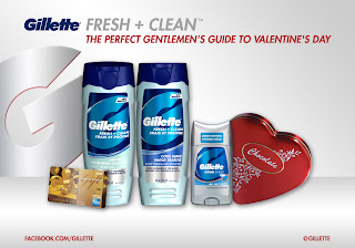 fresh clean giveaway D Valentines Day Giveaway Sponsored by Gillette!