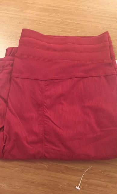 Studio Pants *Unlined Cranberry