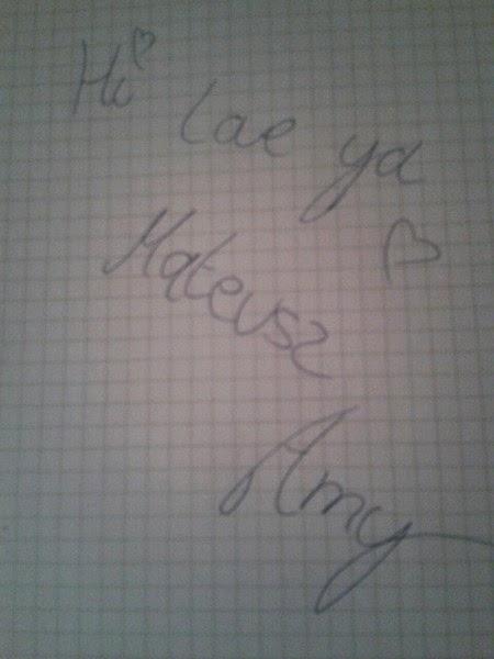 Autograf Amy