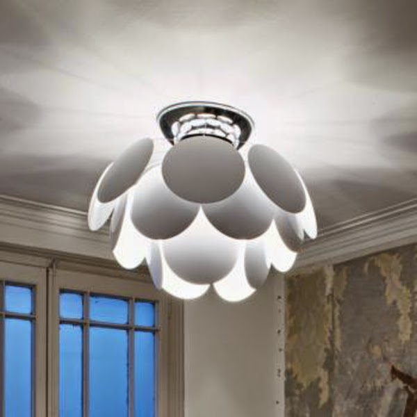 Fascinating modern living room lamps and ceiling lights for Modern living room ceiling lights