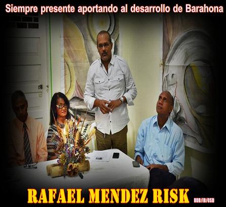 RAFAEL MENDEZ RISK, empresario que contribuye con el desarrollo de su provincia