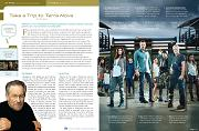 """Terra Nova"" TV Find ""delight!"" magazine story by Chris Mann"