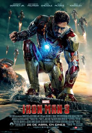 Iron Man 3 - Alucinante, brutal y espectacular tráiler final