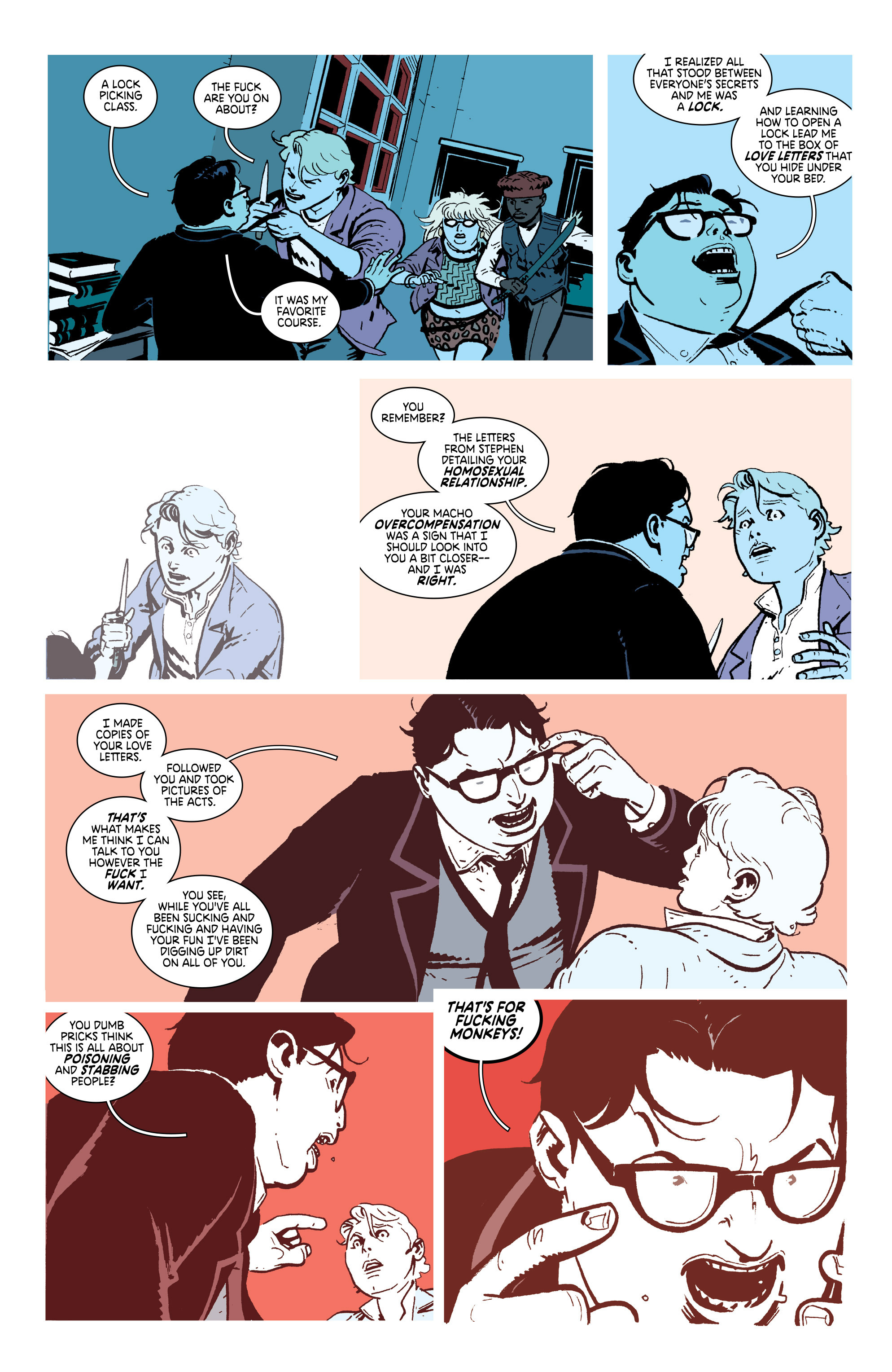 Read online Deadly Class comic -  Issue #18 - 8