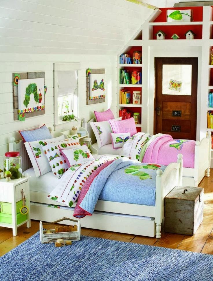 23 dormitorios compartidos para chicos y chicas infantil
