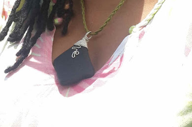 SEA-GLASS PENDANT FROM 'GONE GREEN'  WITH DENISE AND ANGELA IN GRENADA ...