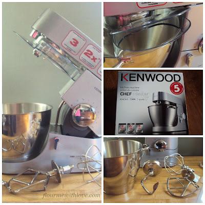 Sour Cream Bundt Coffee Cake & Kenwood Chef Kitchen Machine