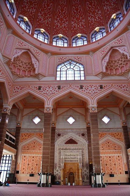 Masjid Putra Kuala Lumpur dome